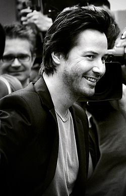 Reeves by die Londense premiere van The Lake House in September 2006