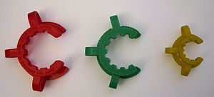 Polyoxymethylene - Keck clips made of polyoxymethylene