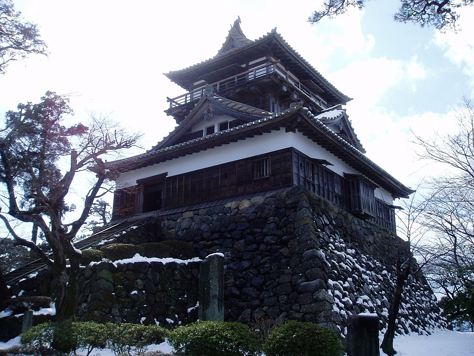 Keep of Maruoka Castle 3