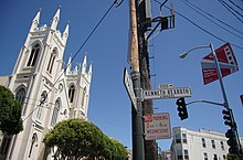 Kenneth Rexroth Street en San Francisco, California