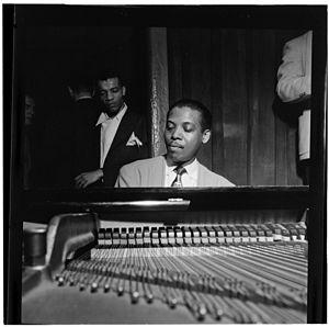 Ken Kersey - Ken Kersey, Café Society, New York City, c. June 1947, photograph by William P. Gottlieb