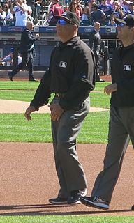Kerwin Danley baseball umpire from the United States
