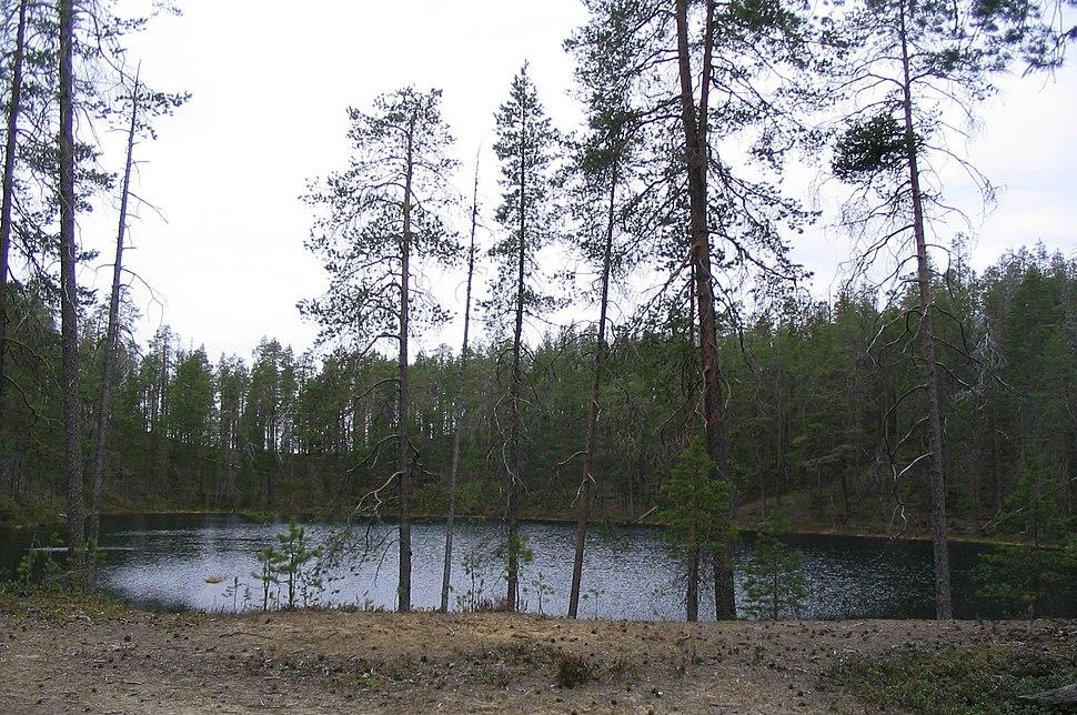 Kettle pond Hossa