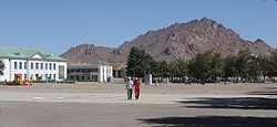 The city of Khovd
