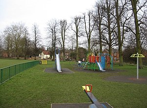 English: Kids playground Southern edge of The ...