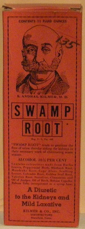 Patent medicine - Kilmer's Swamp Root