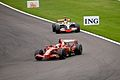 Kimi and Lewis Spa 2008.jpg