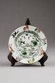 Kinesiskt porslins fat från 1662-1722 Kangxi-perioden - Hallwylska museet - 95676.tif