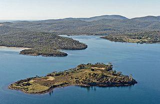 island in Tasmania