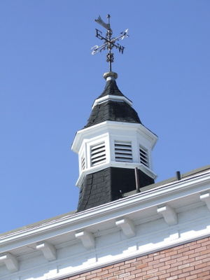 Kings County Museum - The Courthouse Cupola.
