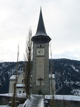 Sagogn - Image: Kirche Sagogn