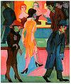 Kirchner - Straßenbild vor dem Friseurladen - 1926.jpg