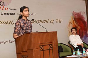 Kirthi Jayakumar - Kirthi Jayakumar at FICCI FLO, July 2016