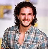 kit harington plays the role of jon snow in television series