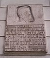 Klapka György emléktábla, Budapest, Akadémia utca 1 .jpg
