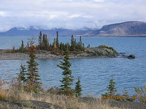Kluane Lake - Image: Kluane Lake YT 2005