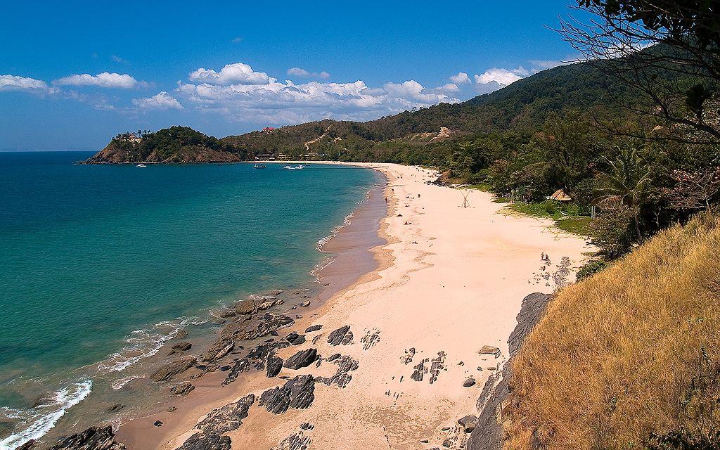 Une des plages de l'île de Koh Lanta en Thaïlande. Photo de Jens-Petter Salvesen