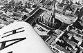 Kolozsvár 1941, légifotó, középen a Szent Mihály templom. Fortepan 31235.jpg