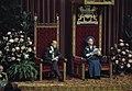 Koningin Juliana en prins Bernhard tijdens de troonrede, Bestanddeelnr 254-9889.jpg