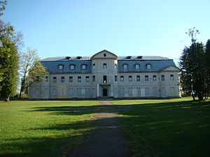 Krāslava New Palace - Image: Kreslau
