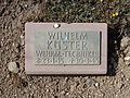 Kriegsopferfriedhof Kloster Arnsburg Grabstein Wilhelm Küster, Wehrmacht-Techniker.JPG
