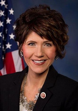 Governor of South Dakota - Image: Kristi L. Noem (cropped)