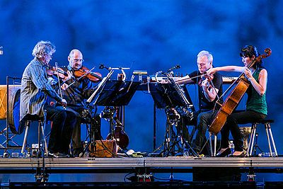 Picture of a band or musician: Kronos Quartet