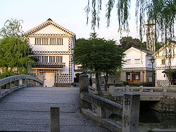Bikan district of Kurashiki