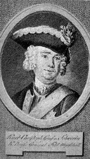 Kurt Christoph Graf von Schwerin - Image: Kurt Christoph von Schwerin