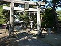 Kurume castle honmaru.JPG