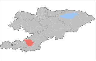 Nookat District Raion in Osh Region, Kyrgyzstan