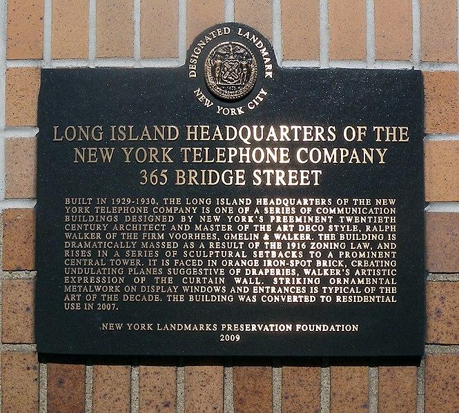 File:LI HQ NYTel plaque jeh.JPG