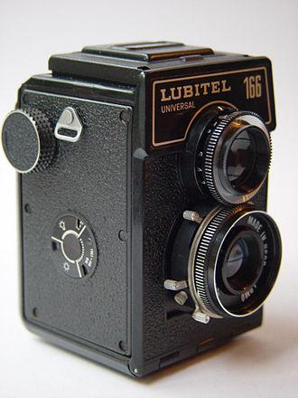 LOMO - Lubitel 166 Universal twin-lens reflex 120 still camera
