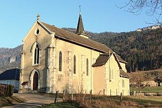La Bauche - Image: La.Bauche.Eglise.Sav oie