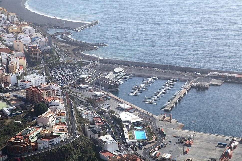 La Palma - Santa Cruz de La Palma - Avenida Los Indianos %2B Port %2B Avenida Maritima %2B Playa %2B Carretera del Gali%C3%B3n (Mirador de la Concepci%C3%B3n) 01 ies