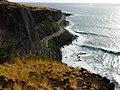 La RN1 vue du haut de la falaise - panoramio.jpg