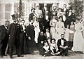 La famille Monet-Hoschedé fête le mariage de Marthe Hoschedé et de Théodore Butler.jpg