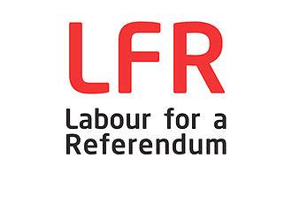Labour for a Referendum - Image: Labour for a Referendum Logo