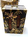 Lacquer box with wooden insert, Korea, Joseon dynasty, c. 1900 AD, lacquer, mother-of-pearl, wood, brass - Linden-Museum - Stuttgart, Germany - DSC03500.jpg