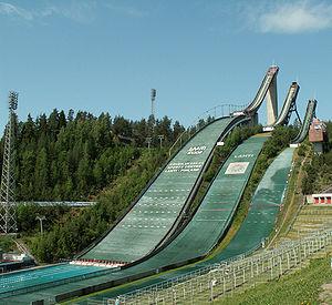FIS Ski Jumping Grand Prix - Image: Lahden hyppyrimaet