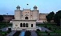Lahore Fort Gate from Badshahi masjid.jpg