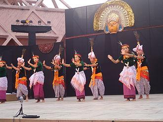 Manipuri dance - Lai Haraoba, a festive Manipuri dance
