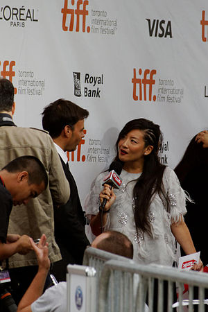 Elaine Lui - Lainey interviewing François Ozon director of The New Girlfriend.