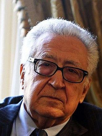 Lakhdar Brahimi - Image: Lakhdar Brahimi 3