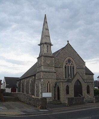 Lancing, West Sussex - Image: Lancing Methodist Church