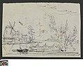 Landschap met windmolen en vissersboot, circa 1811 - circa 1842, Groeningemuseum, 0041576000.jpg