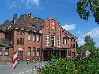 Langenhagen Pferdemarkt station railway station in Germany