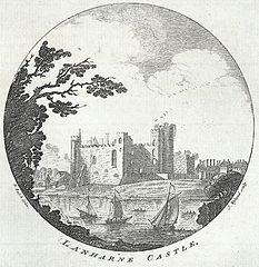 Lanharne Castle