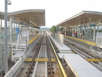 Lansdowne station (SkyTrain) - Image: Lansdowne stn