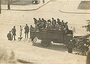 Lapanka zoliborz warszawa Polska 1941